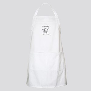 Me Play Drums, Me Hit Things BBQ Apron