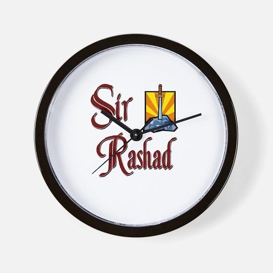 Sir Rashad Wall Clock
