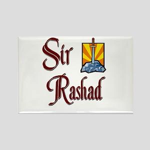 Sir Rashad Rectangle Magnet