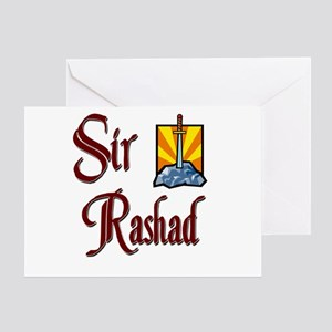 Sir Rashad Greeting Card