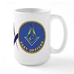 Masonic Past Officer Large Mug
