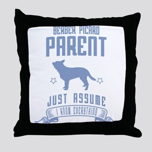 Berger Picard Throw Pillow
