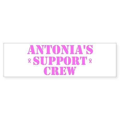 Antonis Support Crew Bumper Sticker