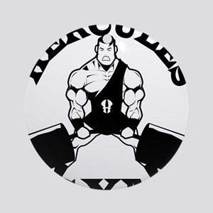 Hercules Gym Round Ornament