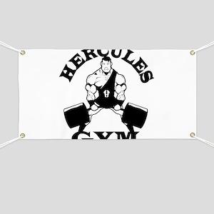 Hercules Gym Banner