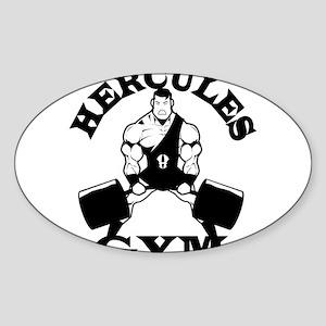 Hercules Gym Sticker