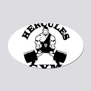 Hercules Gym Wall Decal