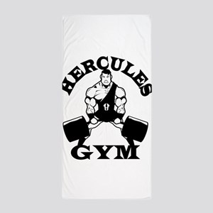 Hercules Gym Beach Towel