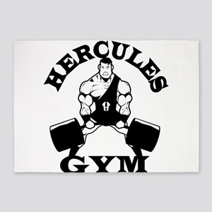Hercules Gym 5'x7'Area Rug