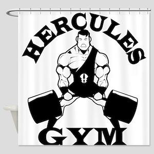 Hercules Gym Shower Curtain