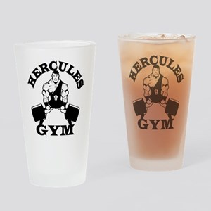 Hercules Gym Drinking Glass