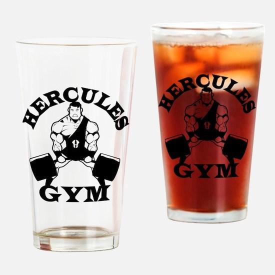Hercules Gym Drinking Glass