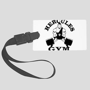 Hercules Gym Luggage Tag