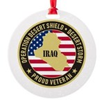 Desert Storm Veteran Ornament