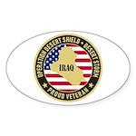 Desert Storm Veteran Sticker