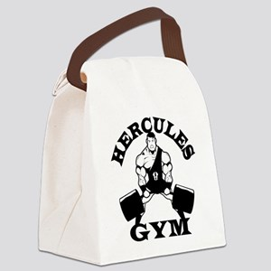 Hercules Gym Canvas Lunch Bag
