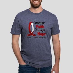 Courage Faith 1 Aplastic Anemia T-Shirt