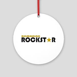 Romanian Rockstar 2 Ornament (Round)