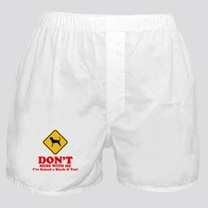 Black & Tan Coonhound Boxer Shorts