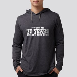 Funny 70th Birthday Long Sleeve T-Shirt