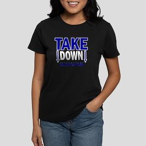 Take Down Colon Cancer 1 Women's Dark T-Shirt
