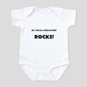 MY Social Researcher ROCKS! Infant Bodysuit