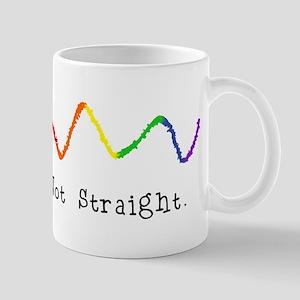 Riyah-Li Designs Not Straight Mug