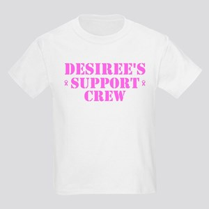 Desiree Support Crew Kids Light T-Shirt