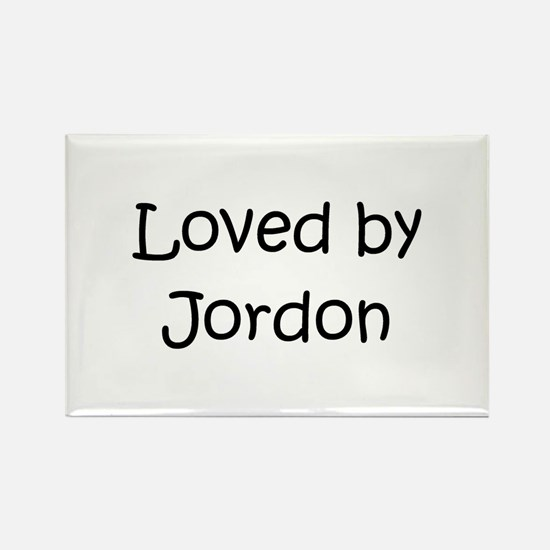 Cute Jordon Rectangle Magnet
