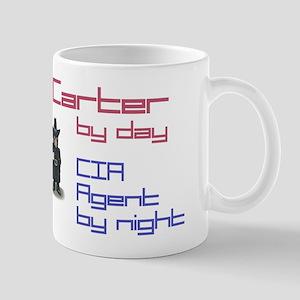 Carter - CIA Agent by Night Mug