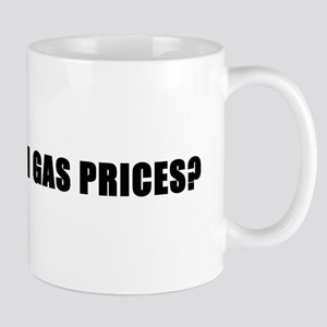 'What high gas prices?' (cycling) Mug
