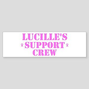 Lucille Support Crew Bumper Sticker