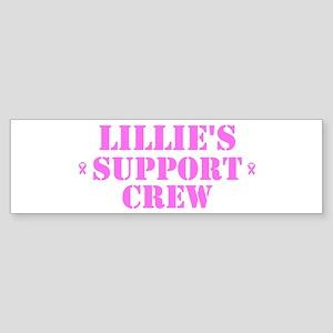 Lillie Support Crew Bumper Sticker