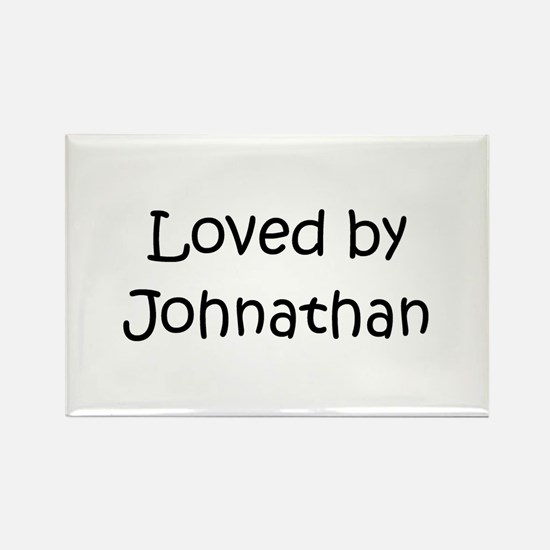 Unique Name johnathan Rectangle Magnet
