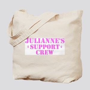 Julianne Support Crew Tote Bag