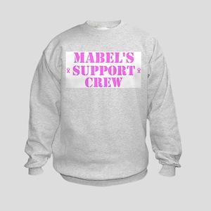 Mabel Support Crew Kids Sweatshirt