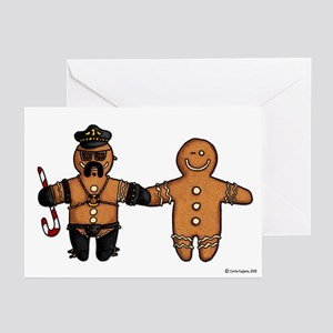 gay gingerbread couple Greeting Cards (Pk of 20)