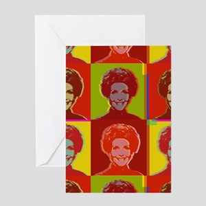 Nancy Reagan Greeting Card