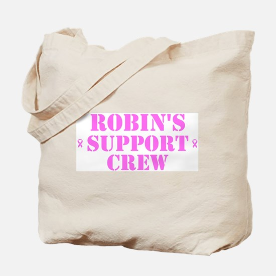 Robin Support Crew Tote Bag