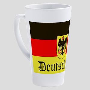 Deutschland 17 oz Latte Mug