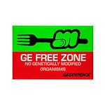 GE Free Zone Fridge Magnet