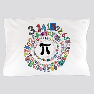 Pi sPiral Pillow Case
