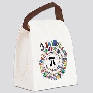 Pi sPiral Canvas Lunch Bag