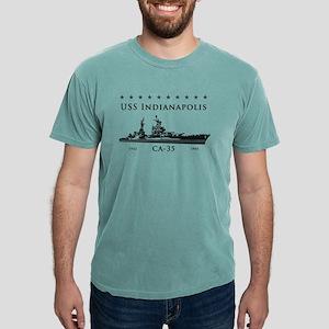 USS Indianapolis Battle Stars T-Shirt