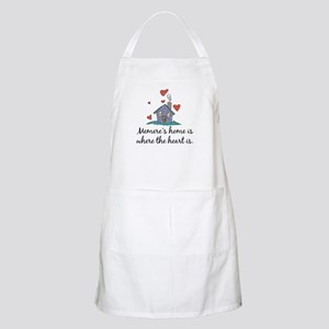 Memere's Home is Where the Heart Is BBQ Apron