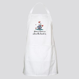 Mimi's Home is Where the Heart Is BBQ Apron