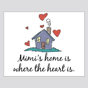 Mimi's Home is Where the Heart Is Small Poster
