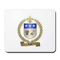 RATE Family Crest Mousepad