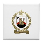 RICARD Family Crest Tile Coaster