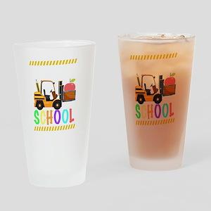 diggin school back to school cool k Drinking Glass
